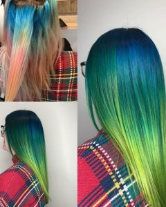 COLOUR CORRECTION AND CRAZY COLOUR MELT BEACH HAIR SALON HOVE BRIGHTON