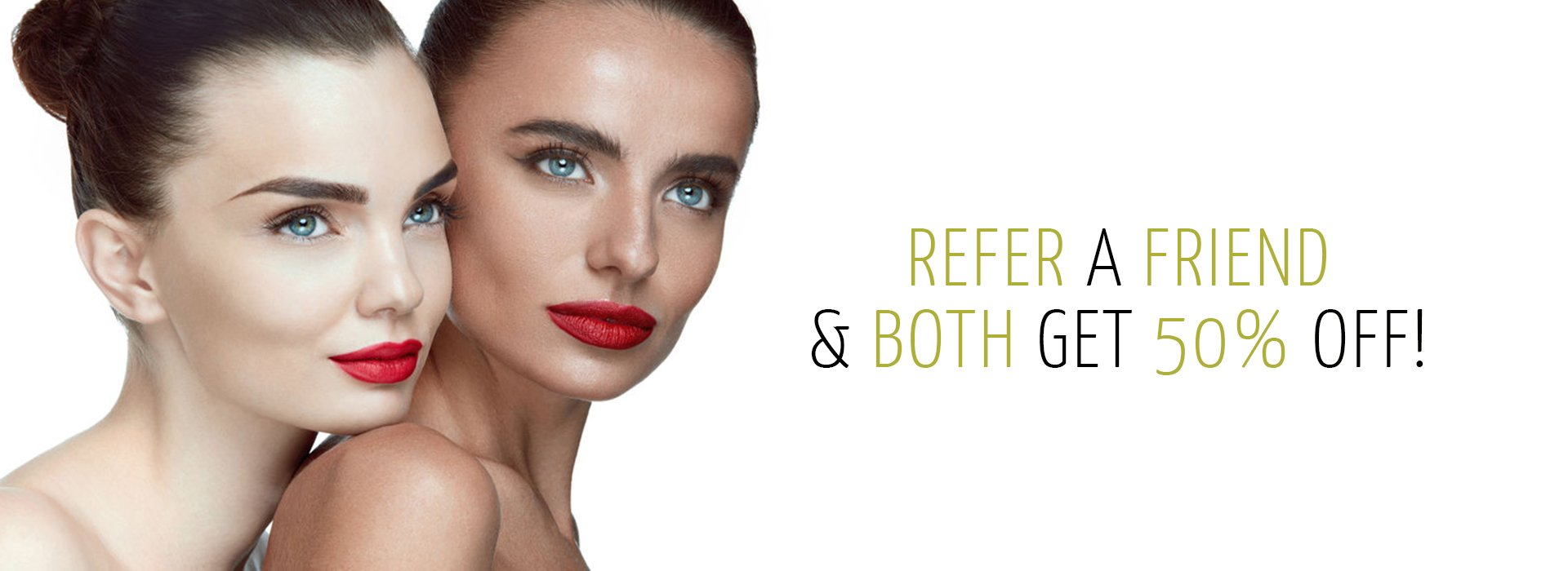 refer a friend at beach hair and beauty salon in hove