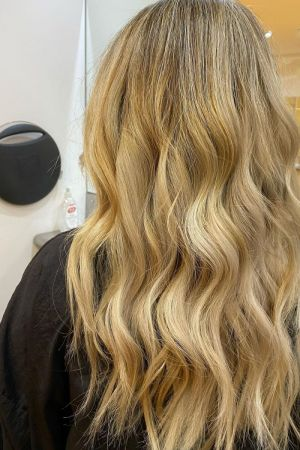 balayage hair colours for red heads at Beach hair and beauty salon in Hove, Brighton