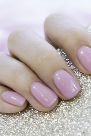 gel nails and amnicures at beach beauty salon and nail bar  Hove, East Sussex